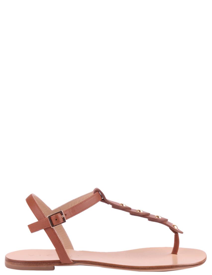 Женские сандалии VICINI 50040-brown