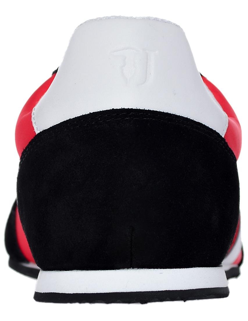 Фото 2 - мужские кроссовки  красного цвета