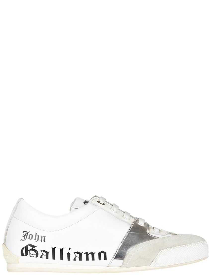 Мужские кроссовки John Galliano 1214_white