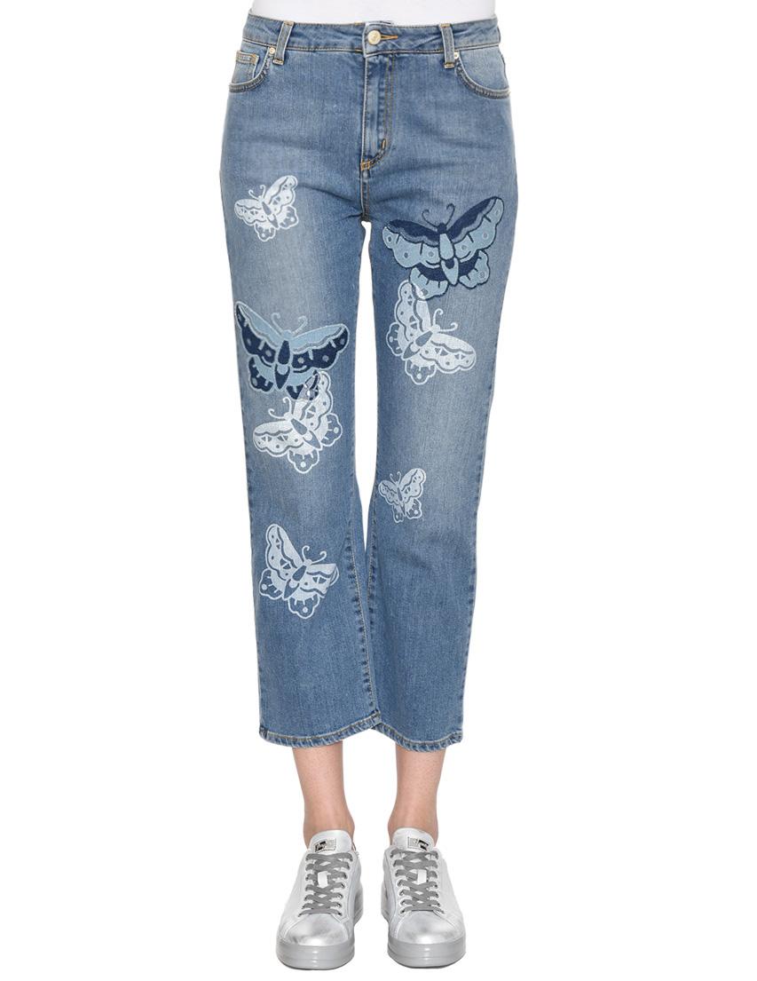 Женские джинсы UP JEANS 0100-Т07-XSS-denim_blue