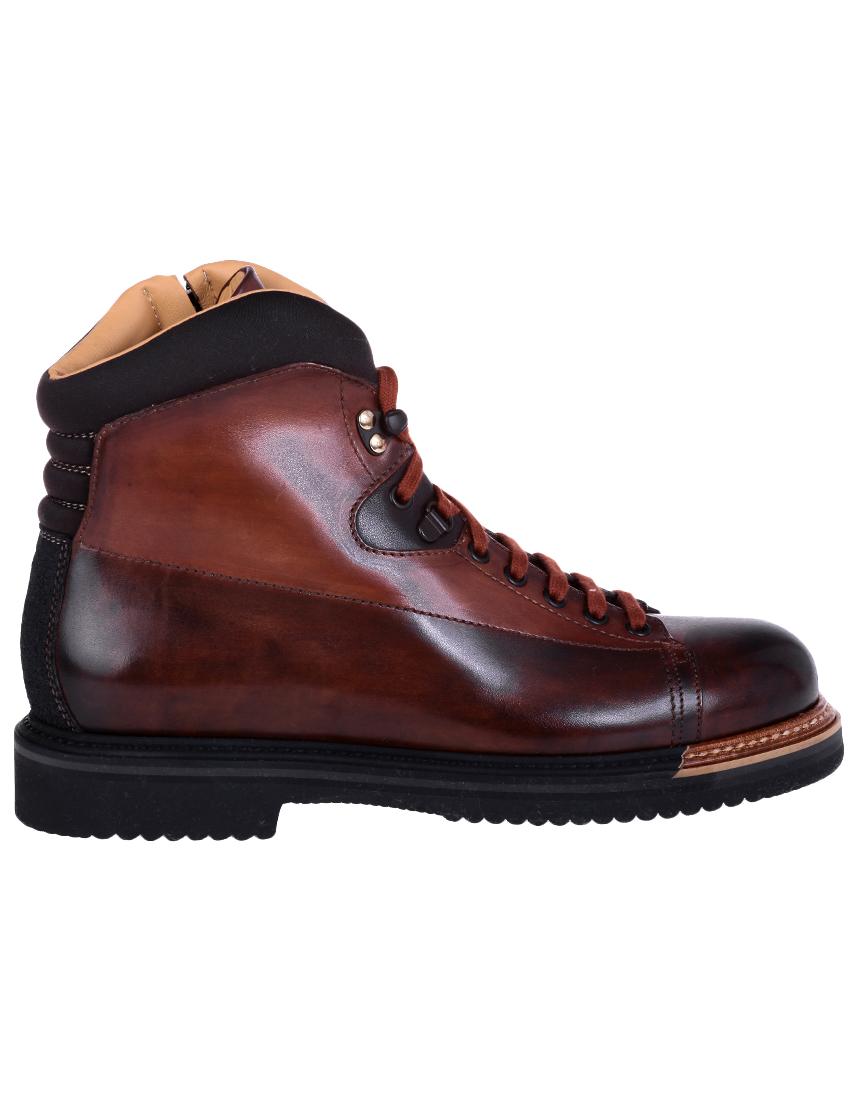 Фото 3 - мужские ботинки и полуботинки  коричневого цвета