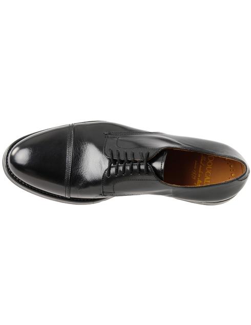 мужские черные кожаные Дерби Doucal'S DU2170DAVIUF063NN00 - фото-5