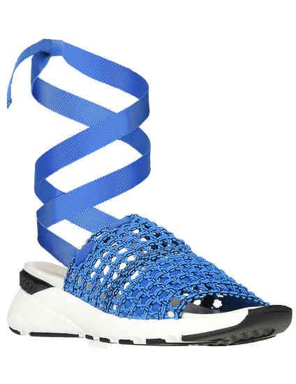женские синие Босоножки Casadei 560-blue - фото-2