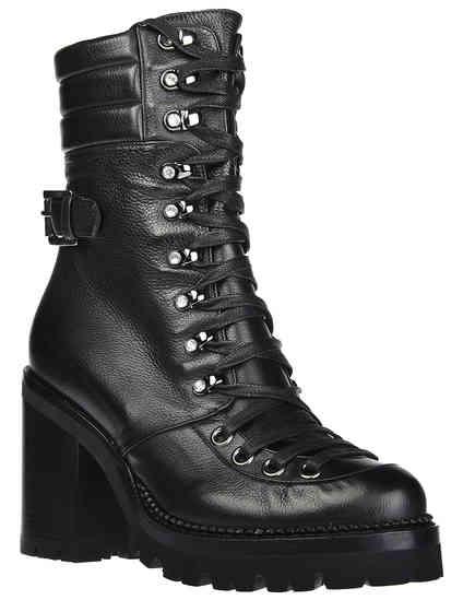 женские черные Ботинки Nando Muzi 215-black - фото-2