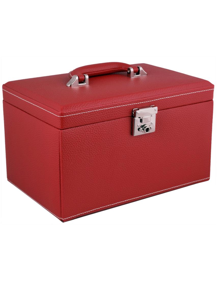Купить Кейс для украшений, FRIEDRICH, Красный, Осень-Зима