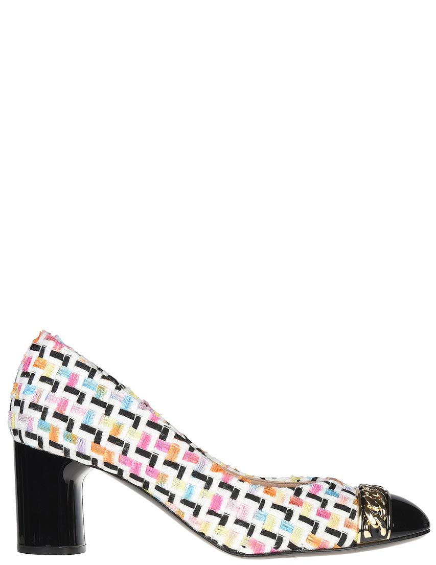 Купить Туфли, CASADEI, Многоцветный, Весна-Лето
