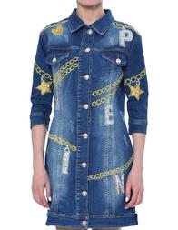 Женская куртка PHILIPP PLEIN 0016_blue
