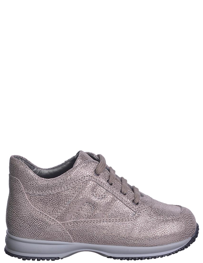 Детские кроссовки для девочек HOGAN B202-silver
