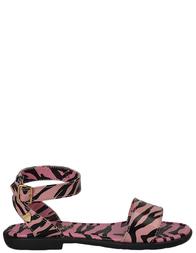 Детские сандалии для девочек MOSCHINO 25657_pink
