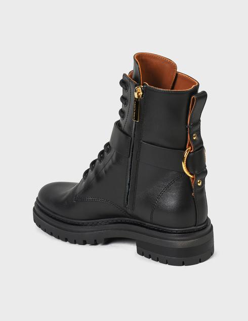 женские черные Ботинки Elisabetta Franchi SA-25B-16E2-V520-110 - фото-2