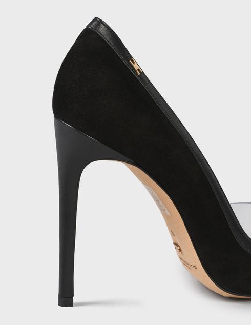 женские черные замшевые Туфли Elisabetta Franchi nSA-05Y-90EC-V302 - фото-5