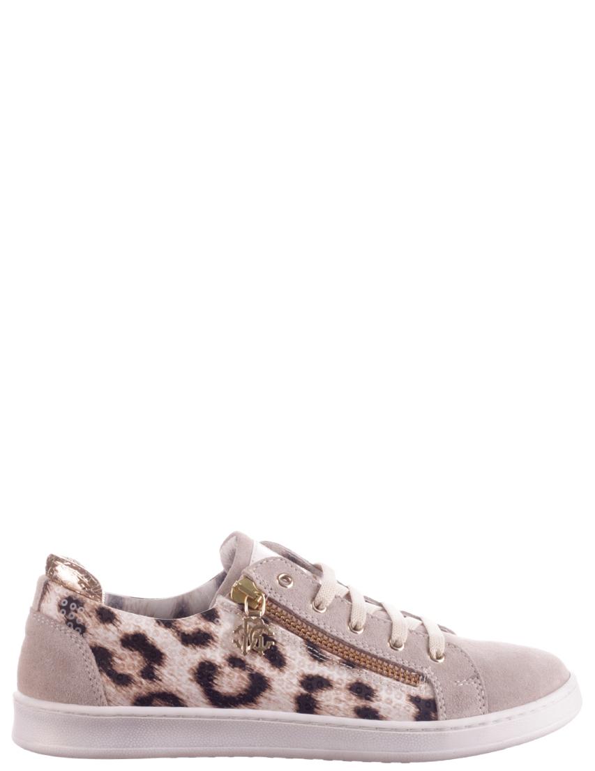 Детские кроссовки для девочек ROBERTO CAVALLI 41454-leo