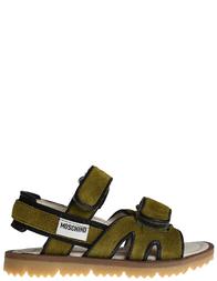 Детские сандалии для мальчиков Moschino 25440_green