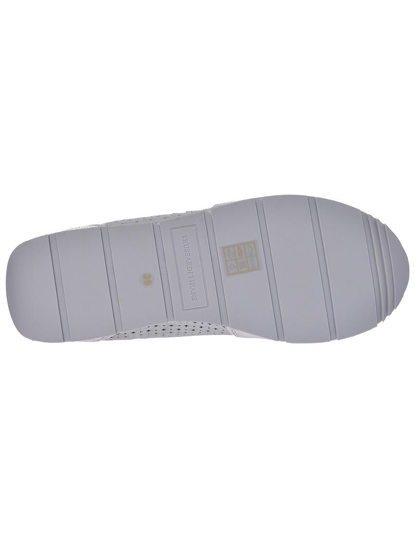 Фото 6 - женские кроссовки  серебрянного цвета