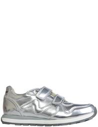 Детские кроссовки для девочек Naturino Bomba-vl-argento_silver