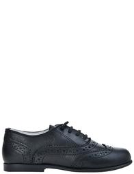 Детские туфли для мальчиков Naturino 4568-vitello-nero_black