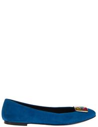 Женские балетки VICINI 46007_blue