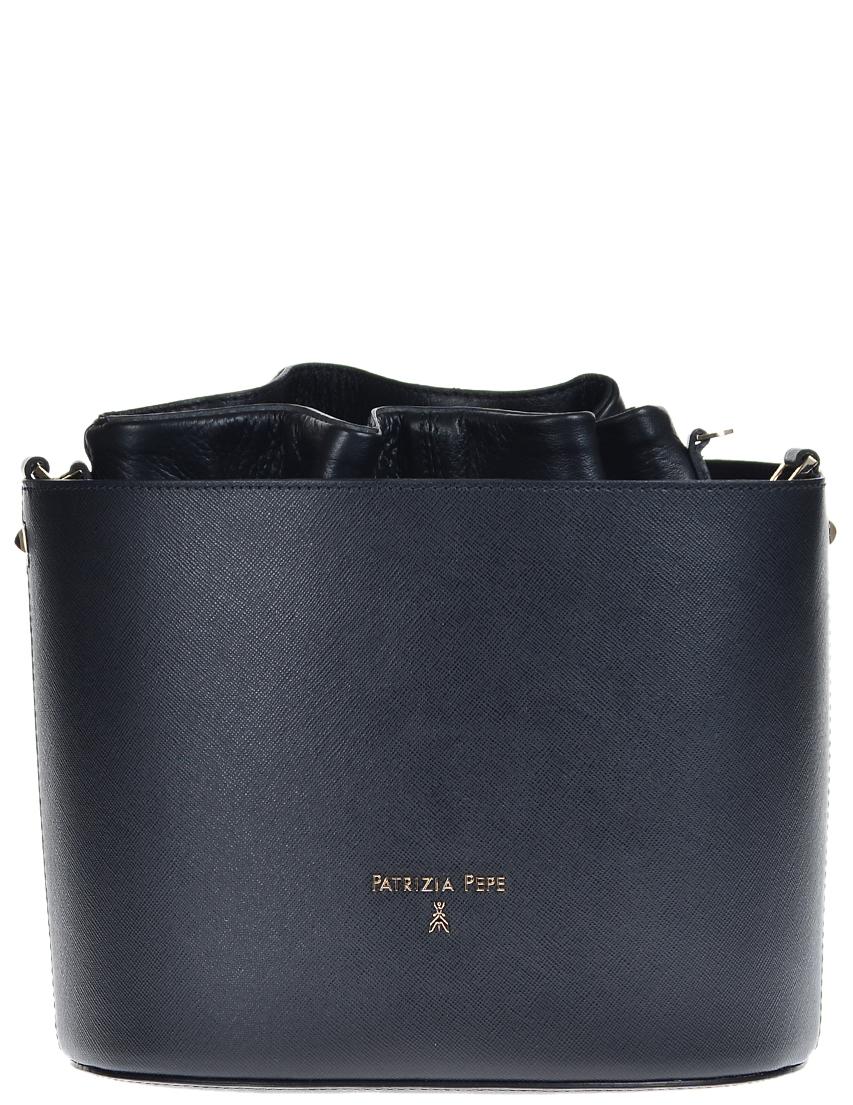 Купить Женские сумки, Сумка, PATRIZIA PEPE, Черный, Осень-Зима