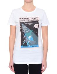Женская футболка LOVE MOSCHINO 4F7323M3517-A00_white