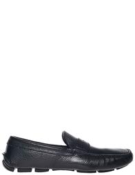 Мужские мокасины Prada 200001_black