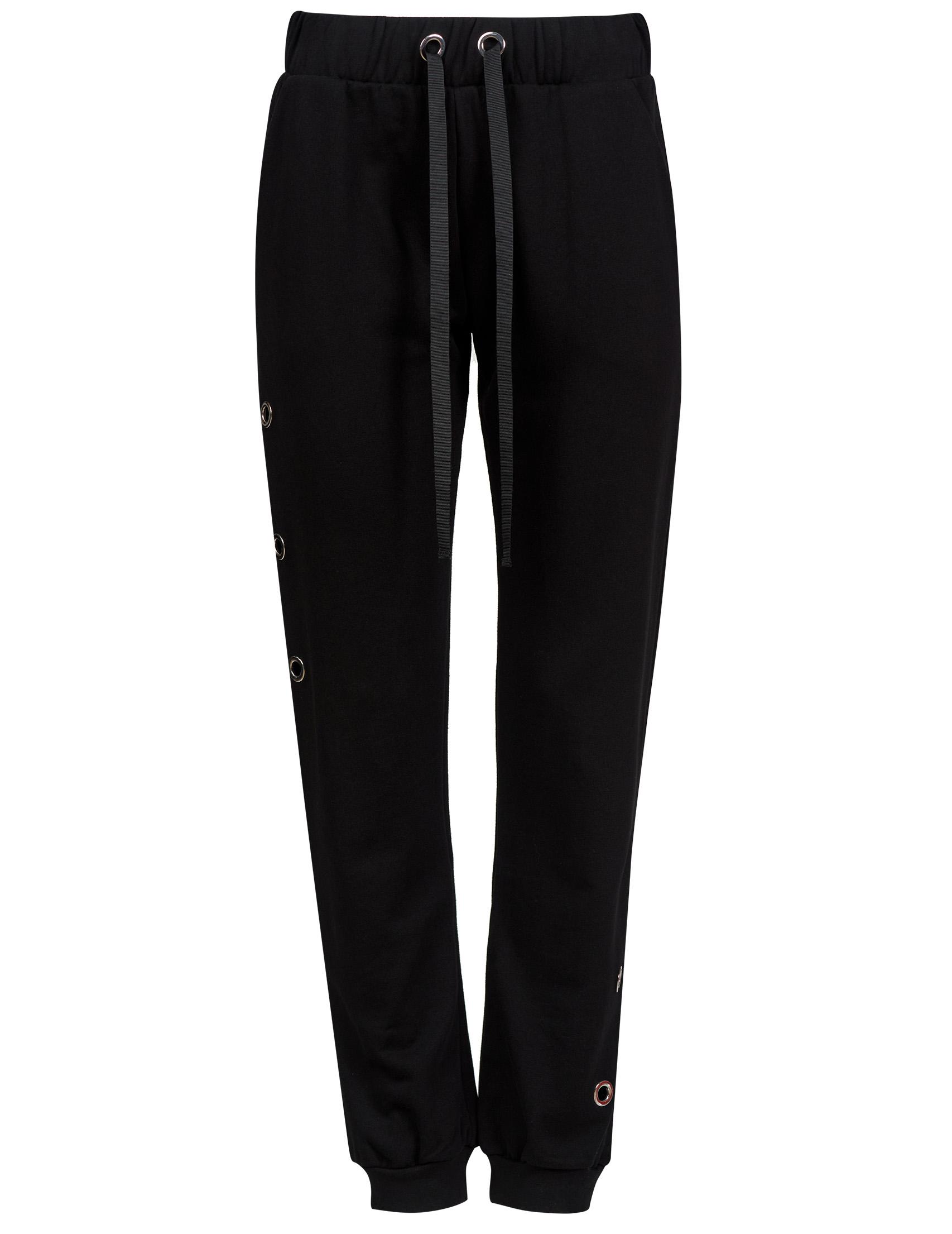 Купить Спортивные брюки, RUE 8ISQUIT, Черный, 100%Хлопок, Весна-Лето