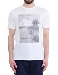 Мужская футболка ARMANI JEANS 3Y6T48-6JPFZ-1100