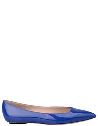Женские балетки CASADEI 141_blue
