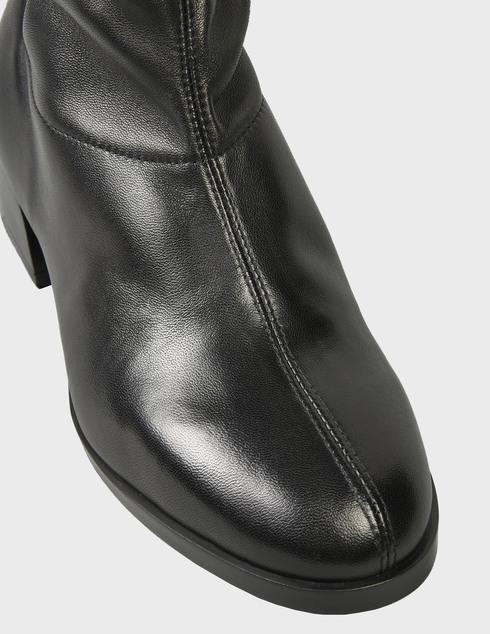 женские черные кожаные Полуботинки Loriblu 1ICT3114CC - фото-5