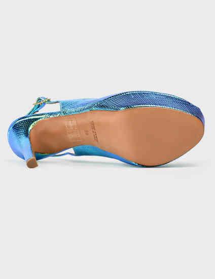 женские многоцветные  Босоножки Albano 5773-multi - фото-5