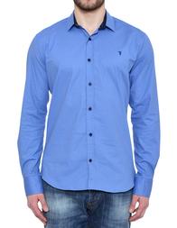 Мужская рубашка TRUSSARDI JEANS 3313_blue