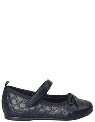Детские туфли для девочек GUCCI 327244AOE404009_blue