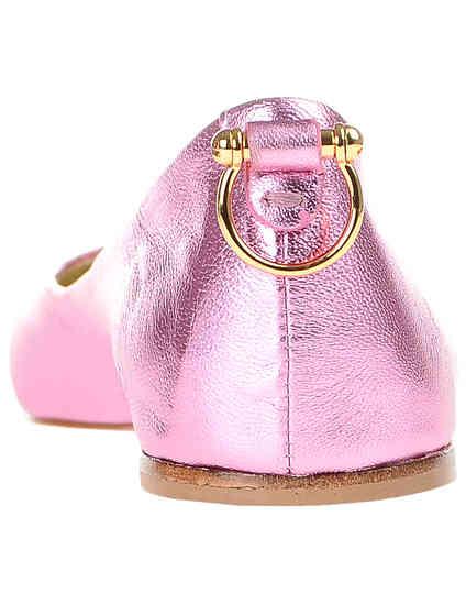 женские розовые Балетки Ines de la Fressange G2258_pink - фото-2