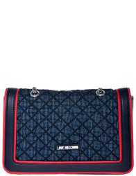 Женская сумка Love Moschino 4219_blue