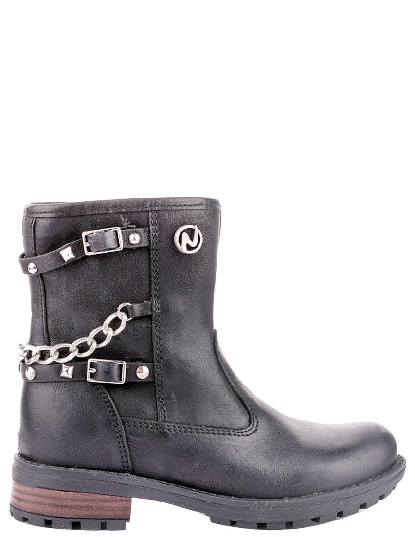 Детские ботинки для девочек NATURINO 3798-black