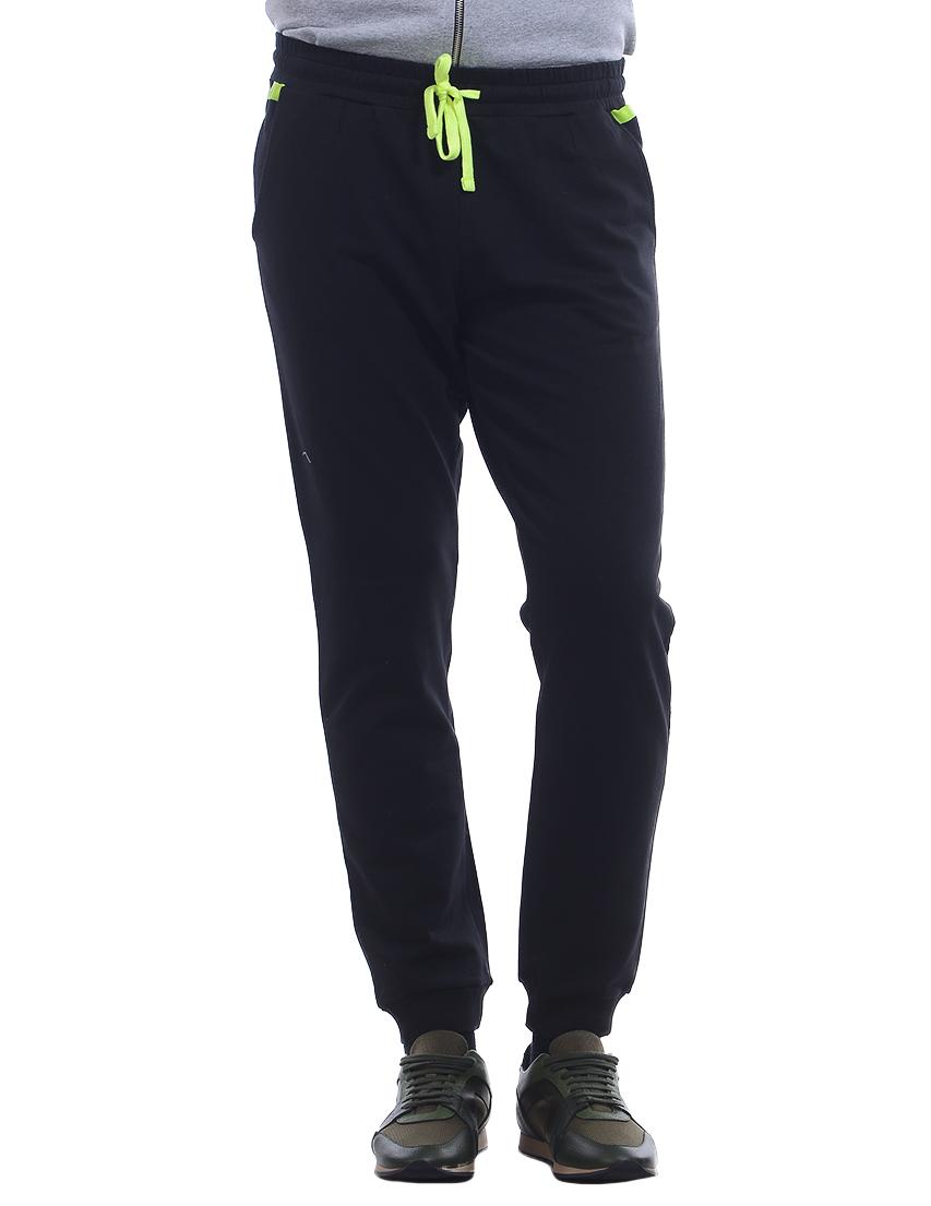 Купить Спортивные брюки, TRUSSARDI JEANS, Черный, 100%Хлопок, Весна-Лето