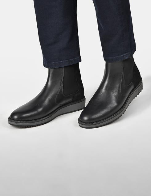 черные Ботинки Trussardi AGR-77A002039Y099999-E708