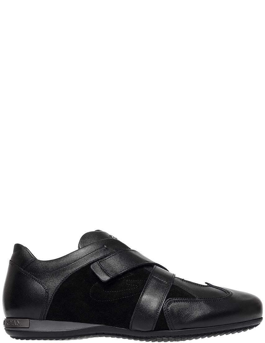 Мужские кроссовки Alberto Guardiani 75343_black