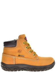 Детские ботинки для мальчиков Naturino Toc_brown