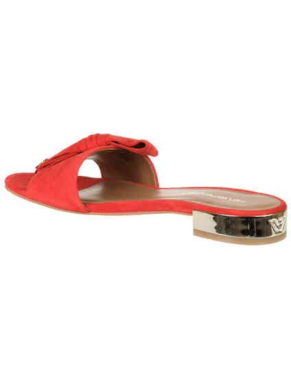 красные женские Шлепанцы Emporio Armani X3P702XF159-00640 4593 грн