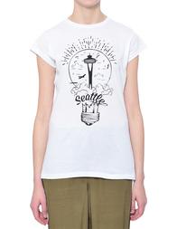 Женская футболка IBLUES 79710672000-MALDIV02