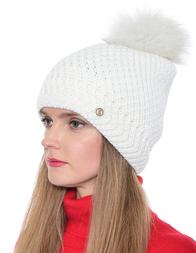Женская шапка BOGNER 9453-P228-031_white