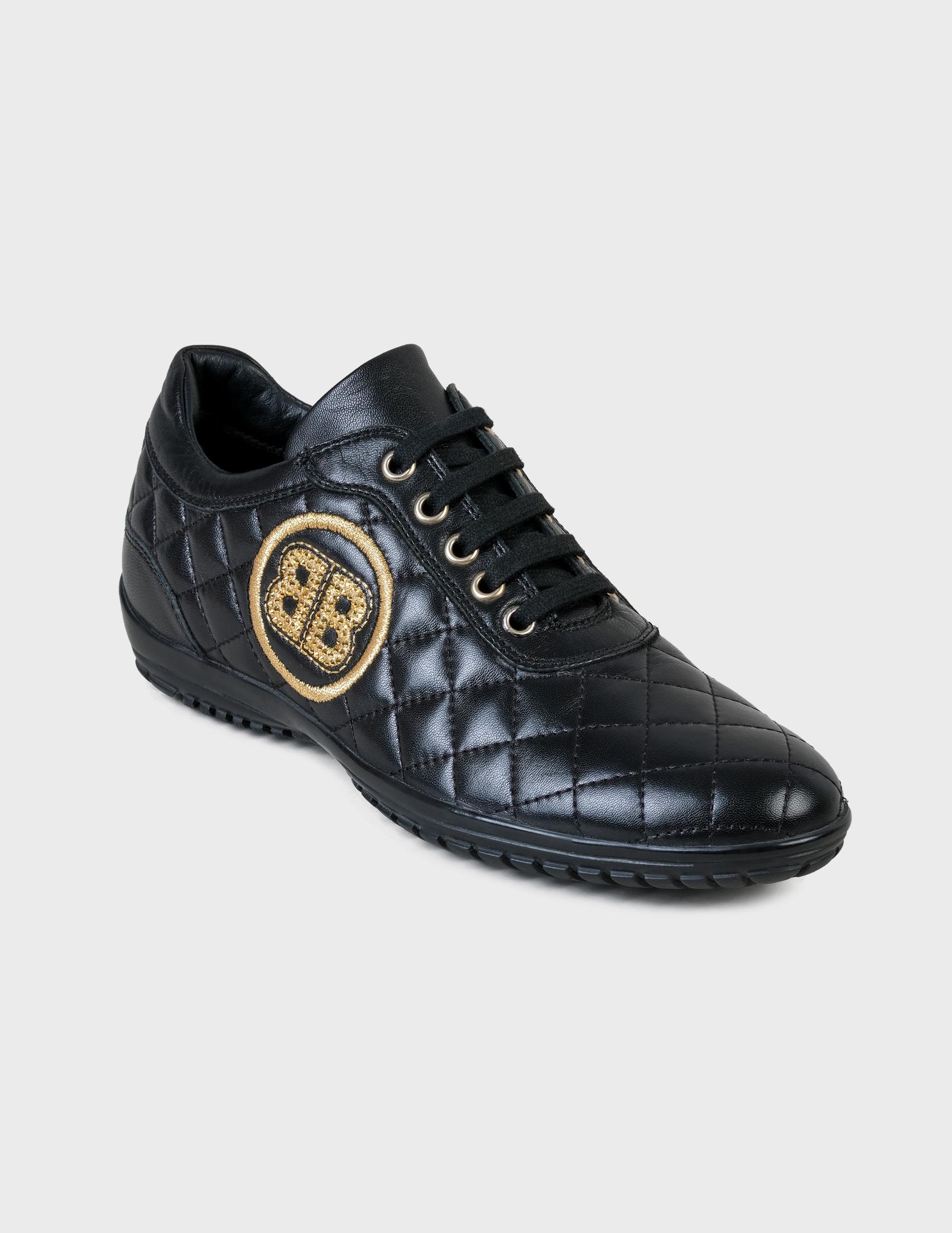 Фото 2 - женские кроссовки  черного цвета