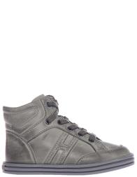 Детские ботинки для мальчиков Hogan Rebel HXT14108221FOUV811_green