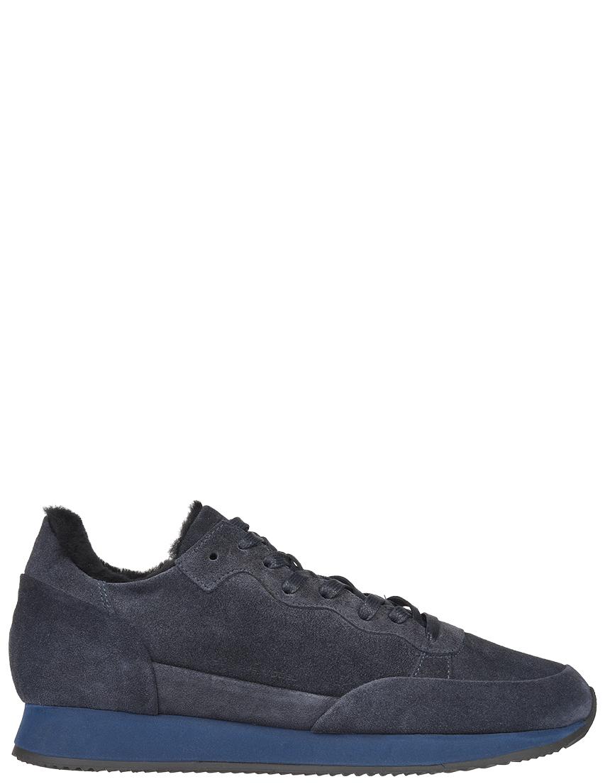 Мужские кроссовки Philippe Model DM04_blue