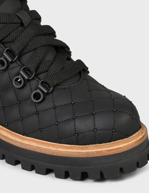 женские черные  Ботинки Le Silla 7519R040 - фото-5