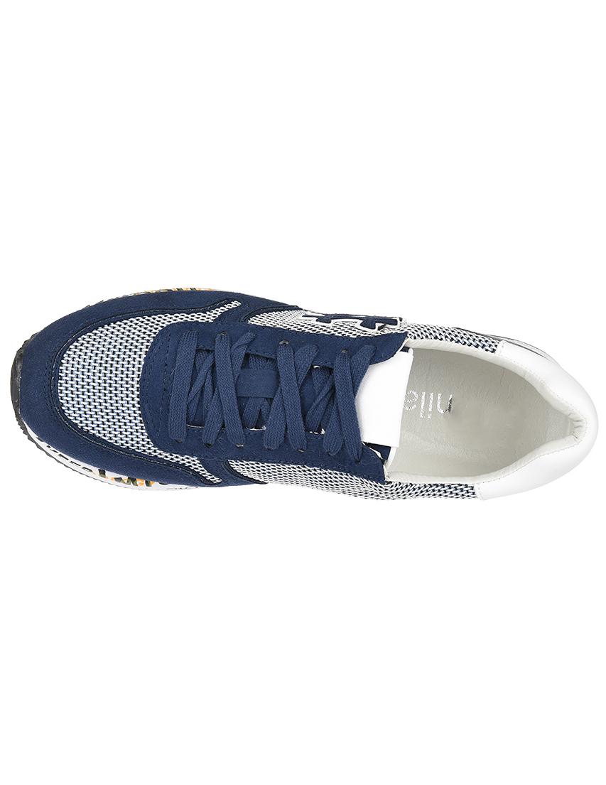 Текстильные синие кроссовки NILA & NILA (ITALY)