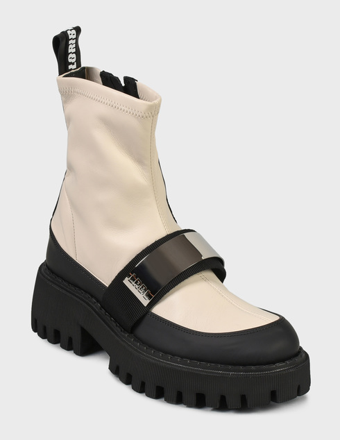 женские бежевые Ботинки Loriblu 2I4TL05300 - фото-2