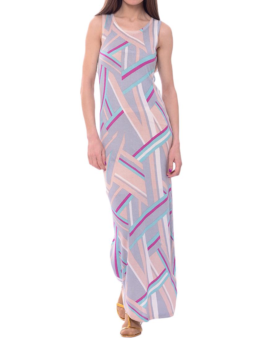 Купить Платье, PATRIZIA PEPE, Многоцветный, 55%Хлопок 45%Вискоза, Весна-Лето