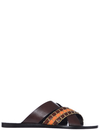 Мужские шлепанцы Etro 3141_brown