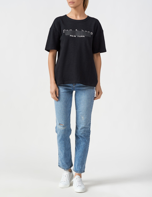 Rag & Bone R&B-AW19-20-BLKW294C57UR-New-York-black фото-4